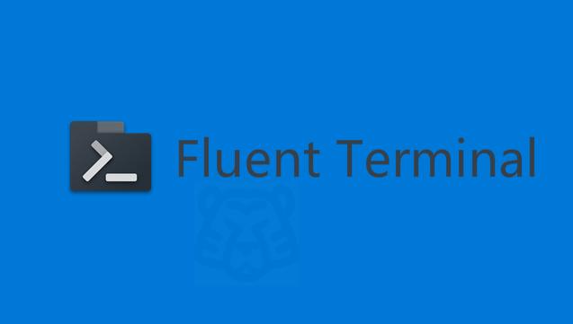 适用Windows的美化终端模拟器:Fluent Terminal